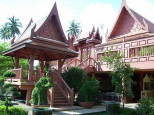 ตัวอย่างบ้านทรงไทย